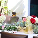Wedding Reception Flowers by Bold Blossoms