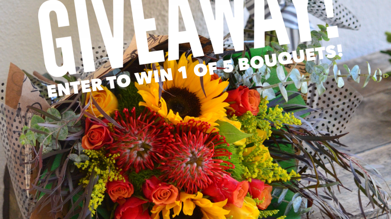 Monthly Flower Subscription Giveaway Bold Blossoms