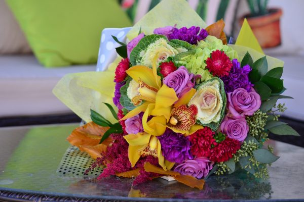 The Inside Scoop on your Bold Blossoms Bouquet ~ November~